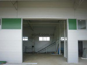 секционные ворота промышленные
