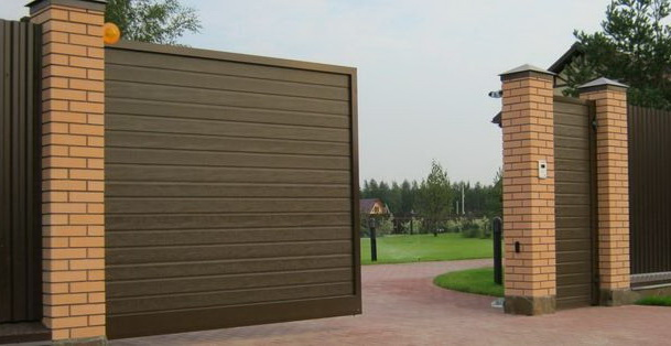 откатные ворота АДС400