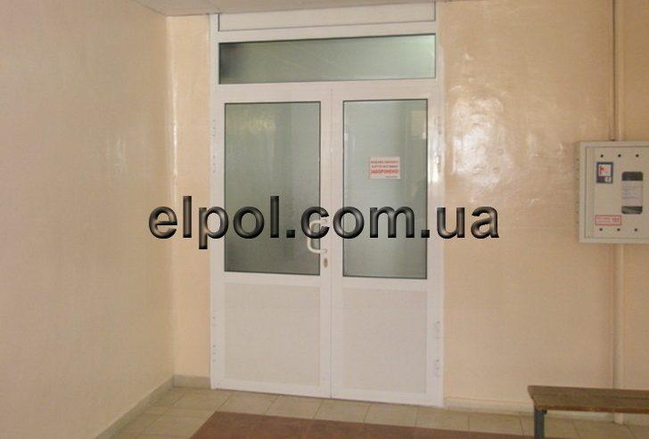 металопластиковые двери