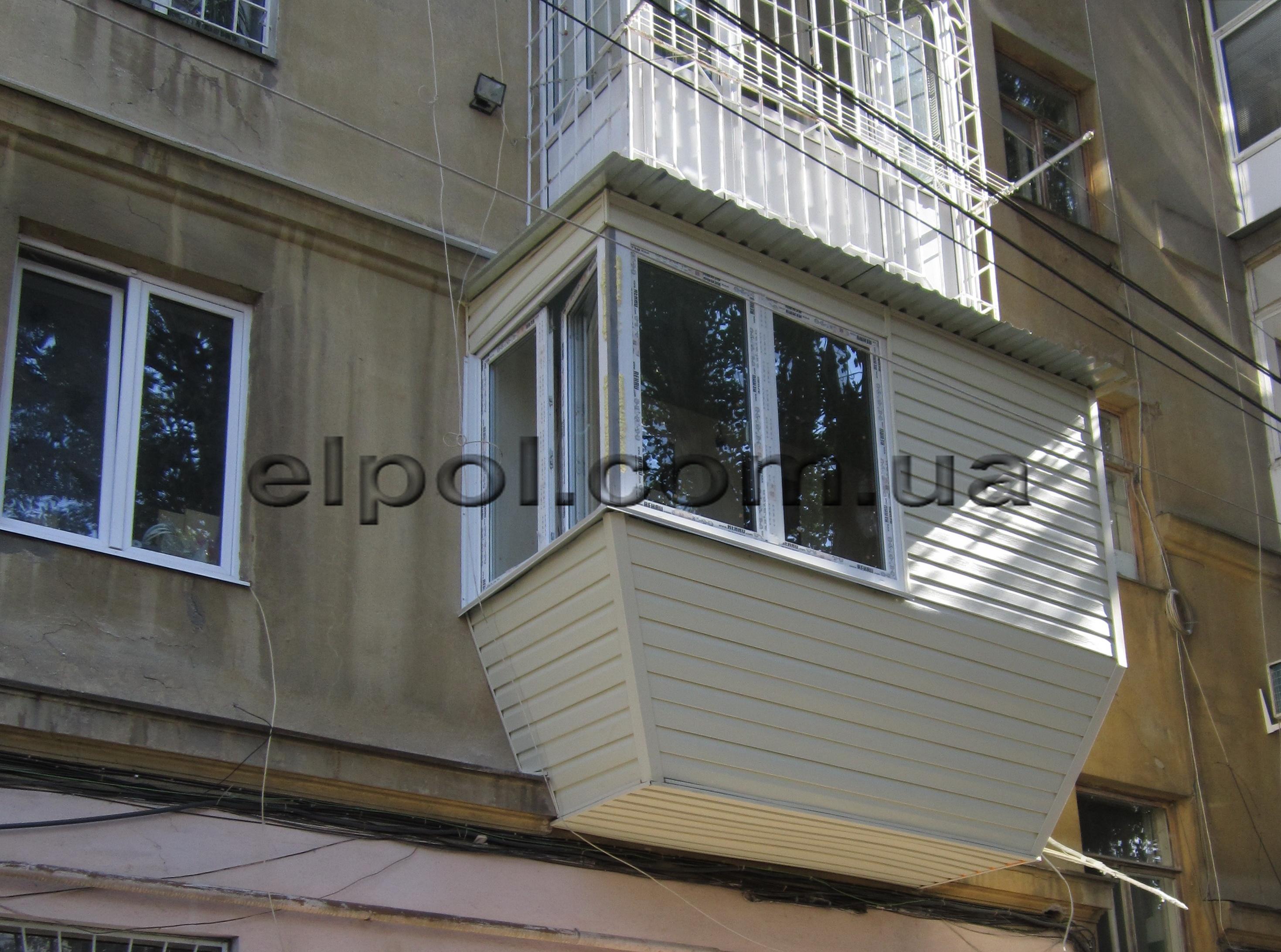 балконный блок и окно
