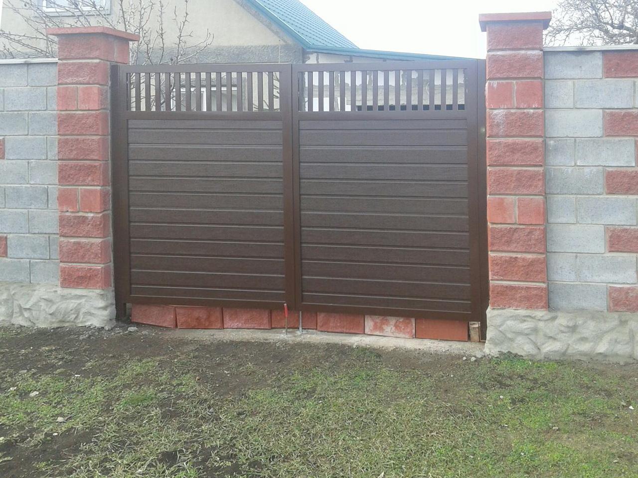 ворота и калитка ADS400