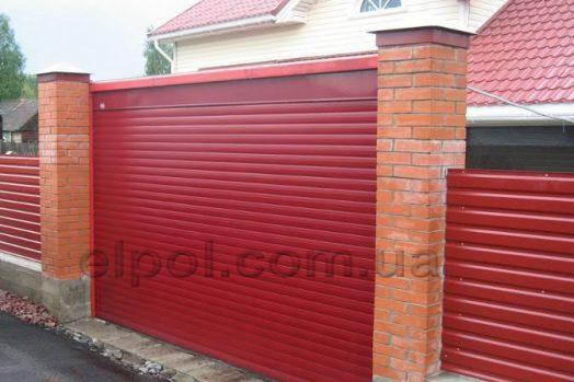 ворота красный рубин