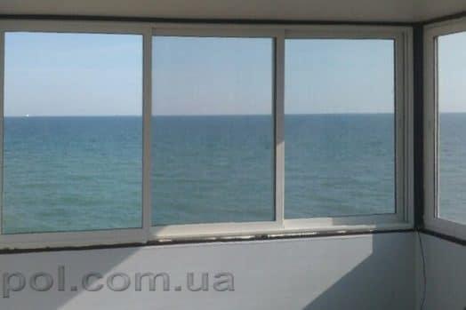 сдвижные алюминиевые окна