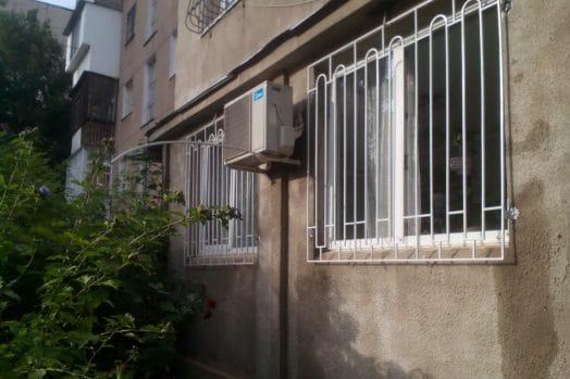 решетки на окна пристройки
