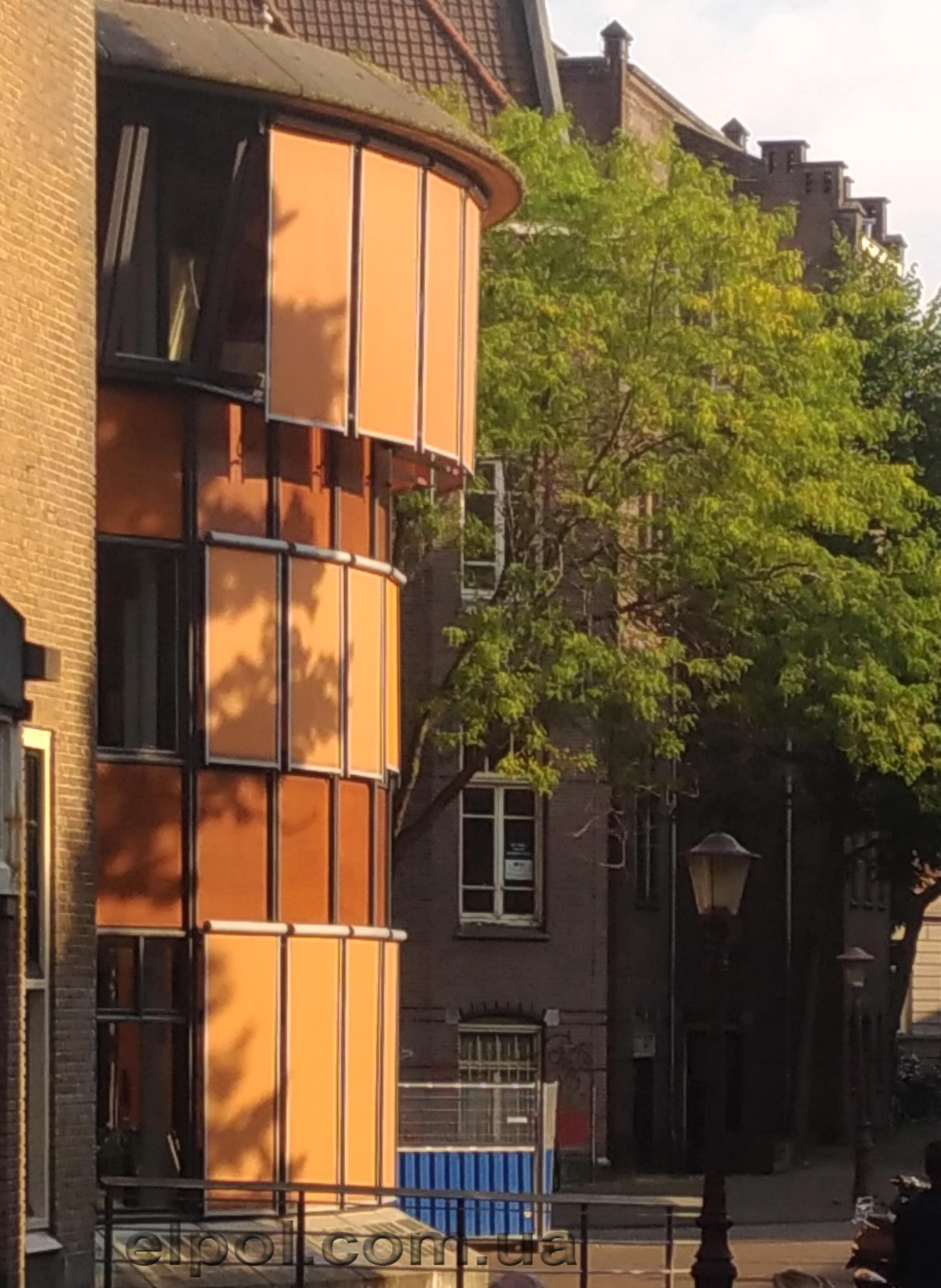 Амстердам маркизы вертикальные с падающим локтем
