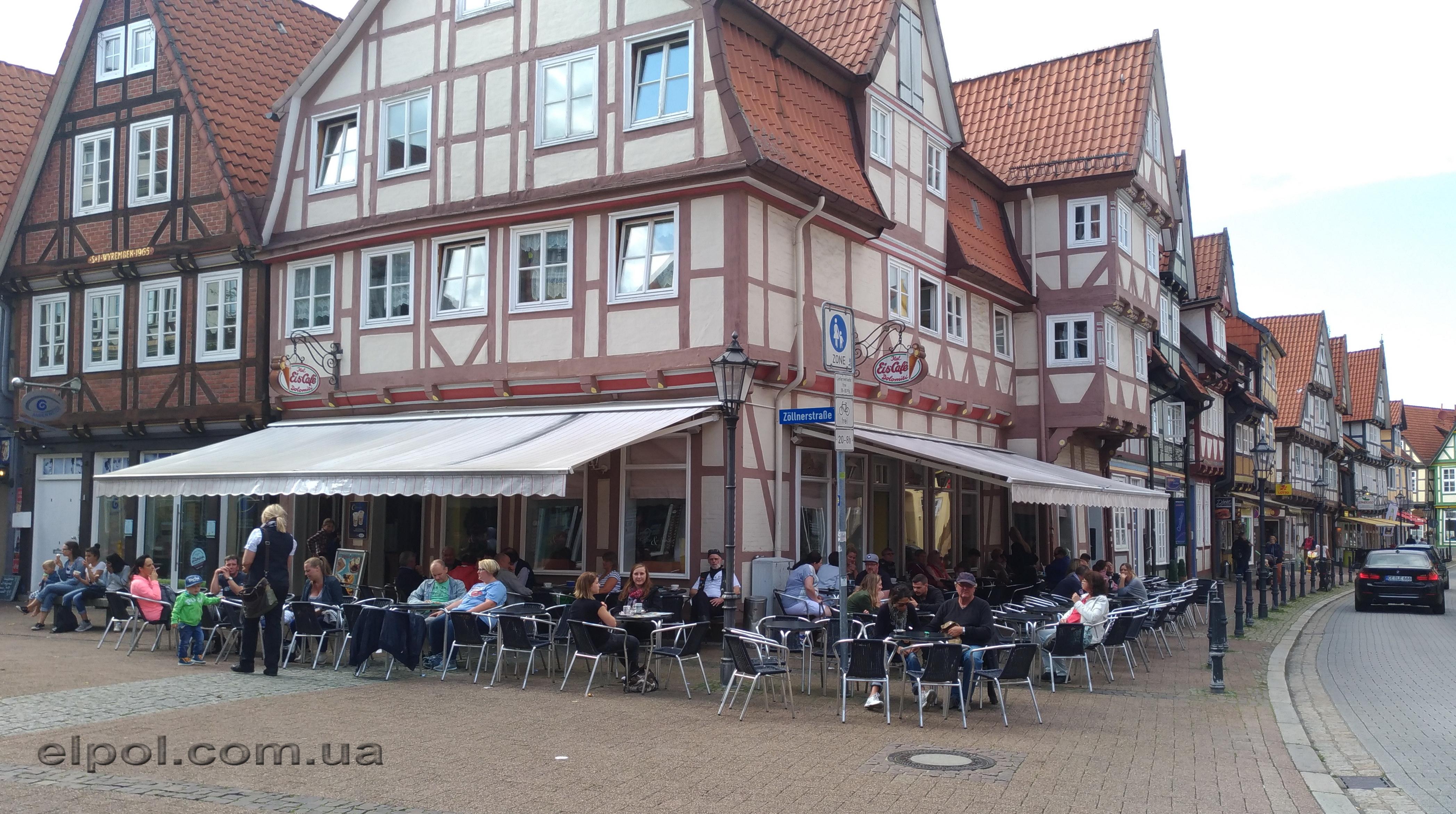 маркизы в Бремене Германия