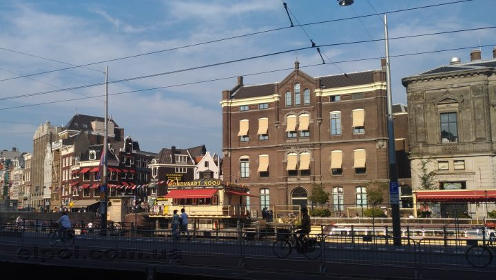 Амстердам маркизы на окнах